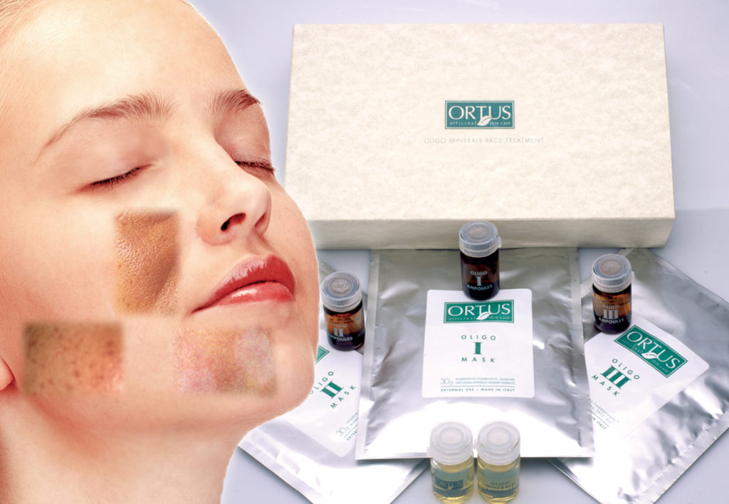 Oligo Minerals  Face Treatment